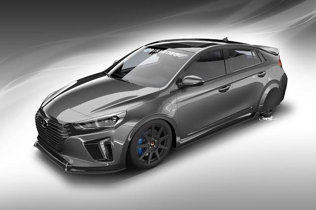 More than tuning the Hyundai HyperEconiq IONIQ is a hypermiling laboratory
