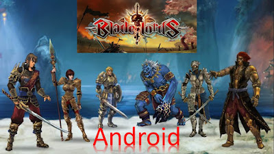 Download Game Android Gratis Blade lords – The Fighting Game apk + obb