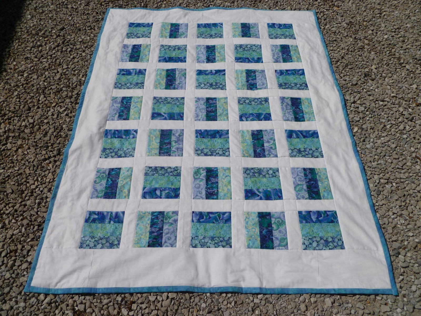 Sewing Amp Quilting Rail Fence Quilt