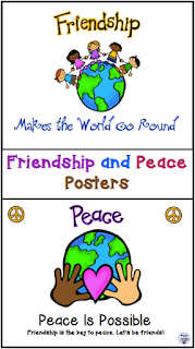 https://www.teacherspayteachers.com/Product/Friendship-and-Peace-Posters-1540187