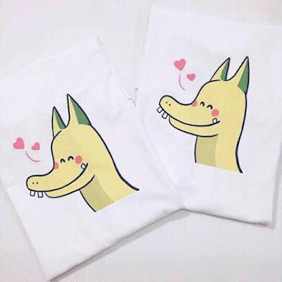 Mua áo thun rồng pikachu tặng người yêu