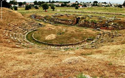 Αρχαίο Θέατρο Ερέτριας: Έναρξη των εργασιών αποκατάστασης και συντήρησης