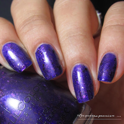 nail polish swatch of Couture for Sure by sinfulcolors