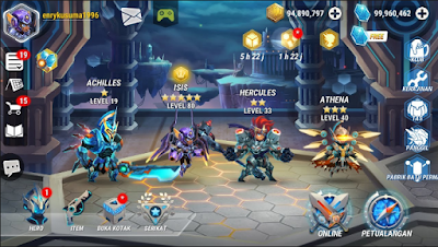 Heroes Infinity: Gods Future Fight Apk Mod