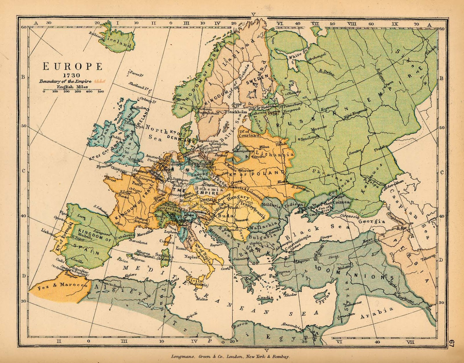 Europe (1730)