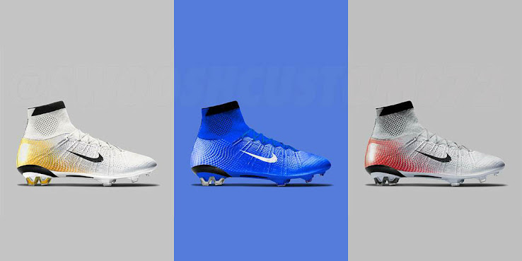 ... Nike Mercurial Superfly Boots with the famous gradient upper design of  the Nike Mercurial Vapor 3 1be41eda84c5f
