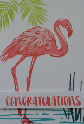 Stampin' Up! UK Independent  Demonstrator Susan Simpson, Craftyduckydoodah!, Fabulous Flamingo, July2017 Coffee & Cards Project, Supplies available 24/7. from my online store,