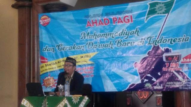 PCM Tanggul Adakan Pengajian Ahad Pagi Bahas Gerakan Islam di Indonesia