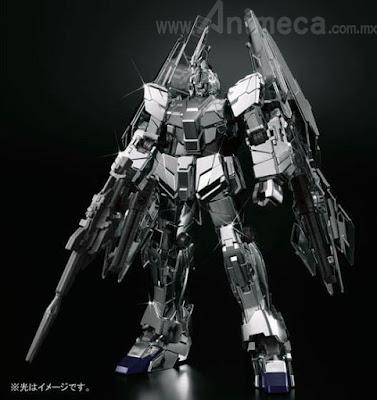 Unicorn Gundam 03 Phenex type RC (Unicorn Mode) Silver Coating Ver. HGUC 1/144 Model Kit Mobile Suit Gundam Unicorn