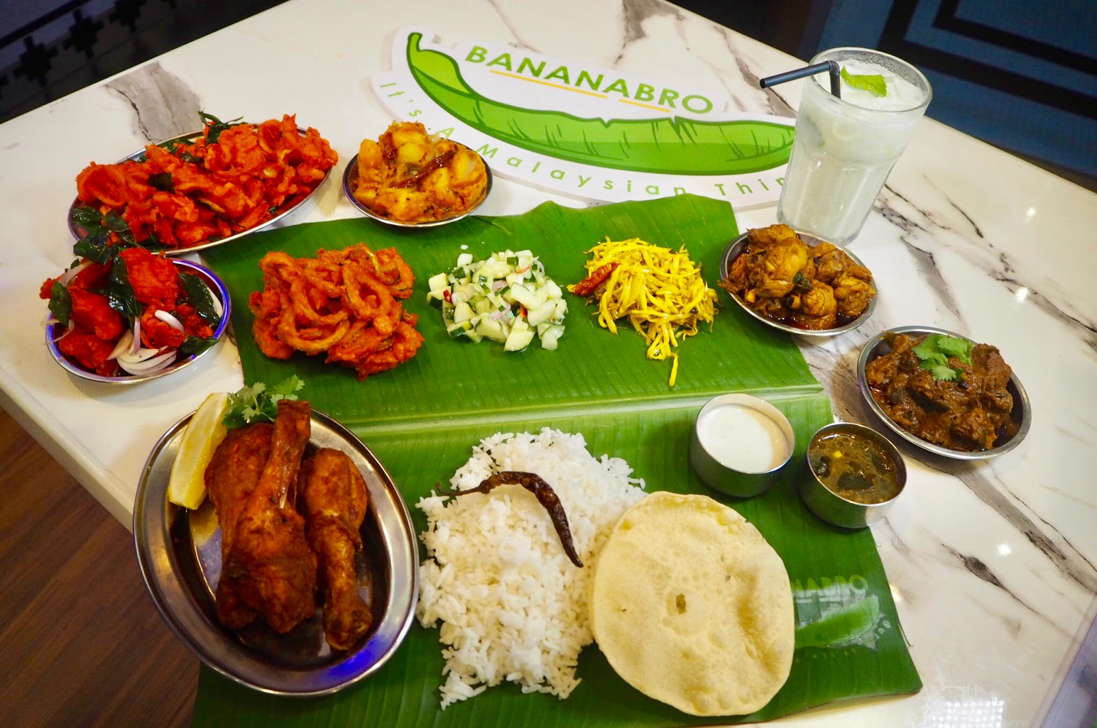 [Food Review] A Traditional Indian Banana Leaf Rice @ BANANABRO, Berjaya Time Square