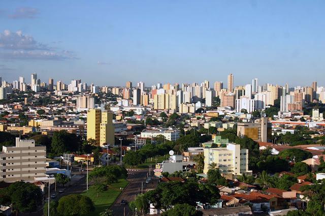 Campo Grande MS é a terceira maior cidade do Centro-Oeste do Brasil em 2016