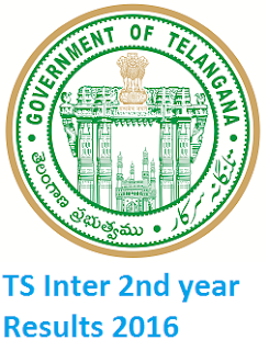 ts inter results 2016, ts inter 2nd year results 2016, manabadi telangana inter results