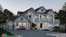 4 Bedroom Beautiful Kerala Villa Architecture