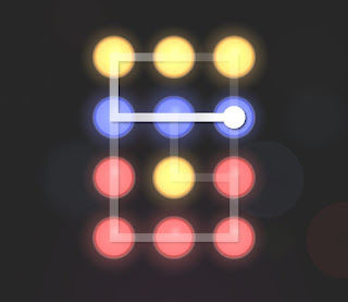 Solution, Cheats, Walkthrough for Neon Hack [Neon Dots] Level 18