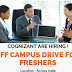 Cognizant Off Campus Drive For Freshers | Bangalore,Chennai,Coimbatore,Hyderabad,Kolkata,Delhi,Pune