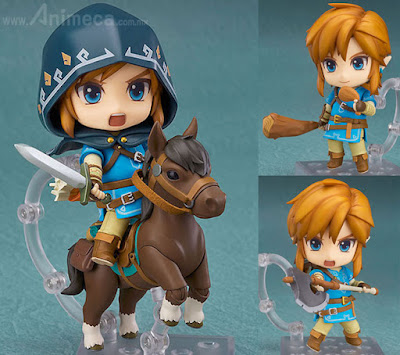 Figura Link Breath of the Wild Ver. Nendoroid DX Edition The Legend of Zelda
