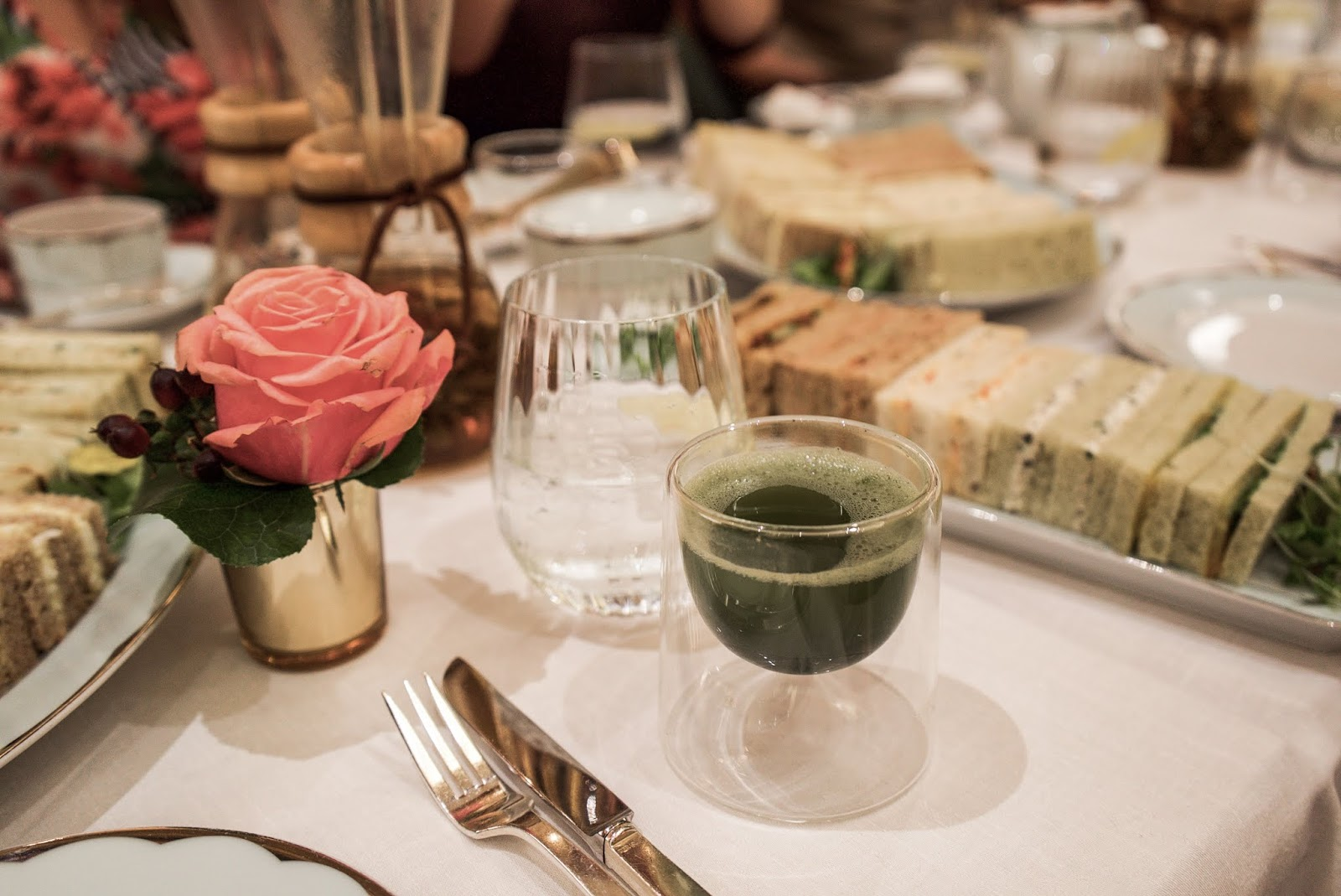 Afternoon Tea, The Promenade At The Dorchester, London. Lauren Rose Style Blogger.