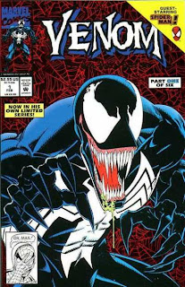 Venom: Lethal Protector #1 Issue One David Michelinie Mark Bagley Spider-Man miniseries Marvel Cover comic book