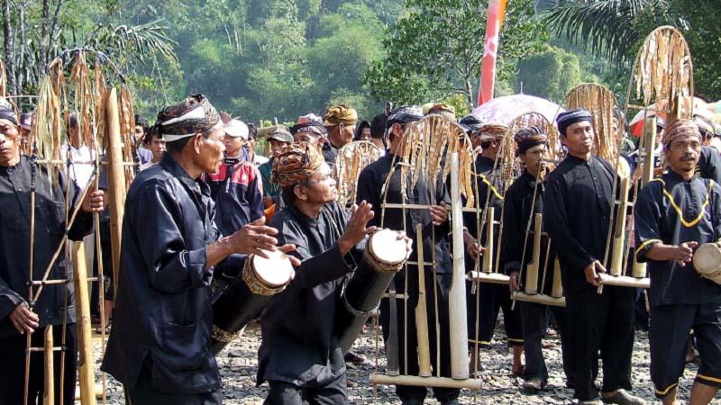 Angklung Buhun, Kesenian Tradisional Suku Baduy di Banten