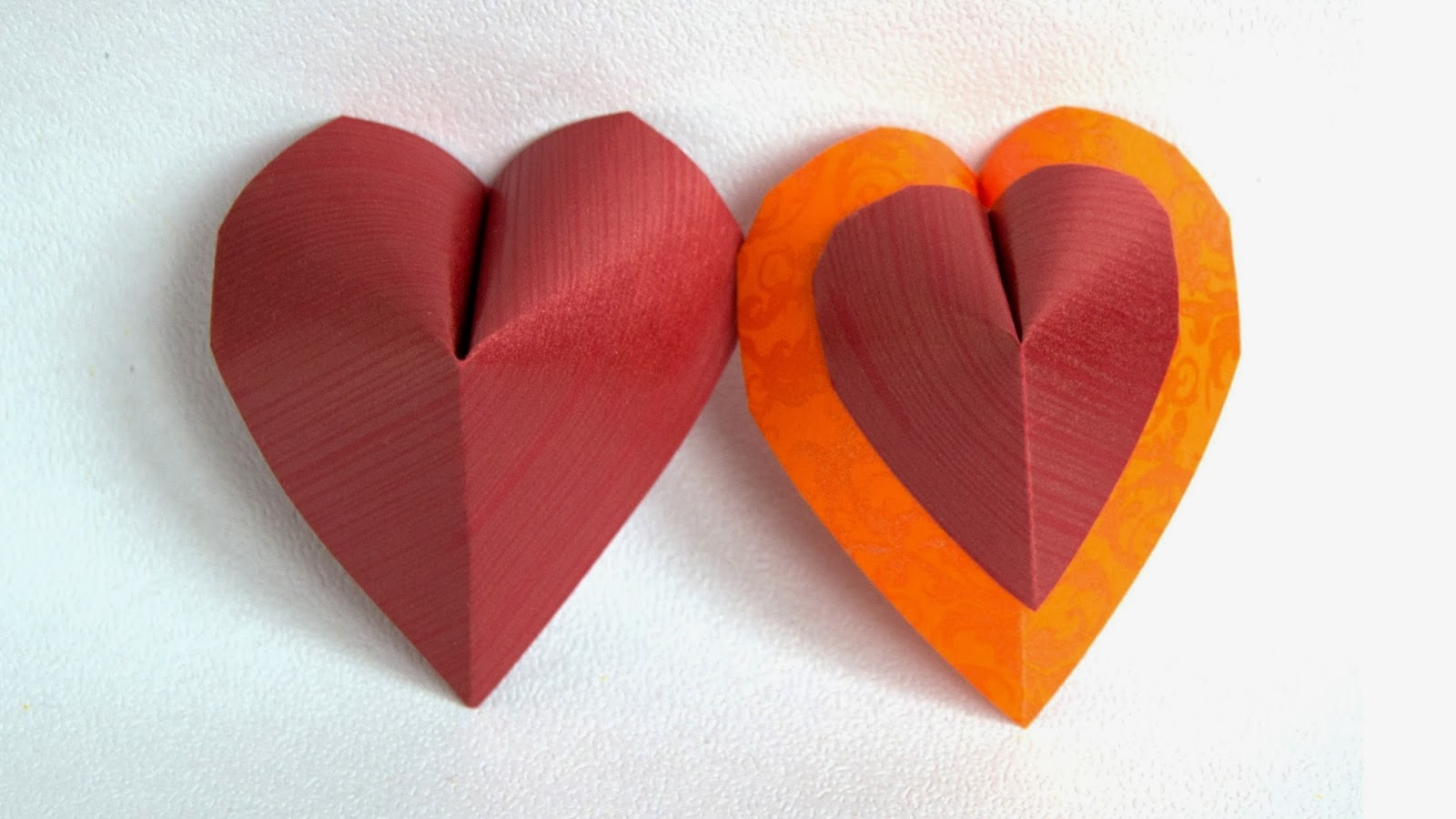 Origami Maniacs: Beautiful origami Heart of True Love by ... - photo#47