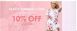 Zaful 10% off discount