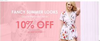 Zaful 10% off discount