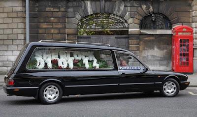 Imagen de la campaña promocional #Sherlocklives