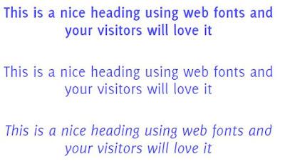 delicious web font