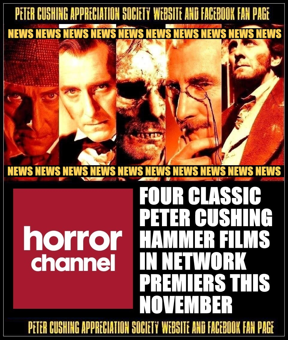 NEWS: MORE PETER CUSHING FILM NEWS