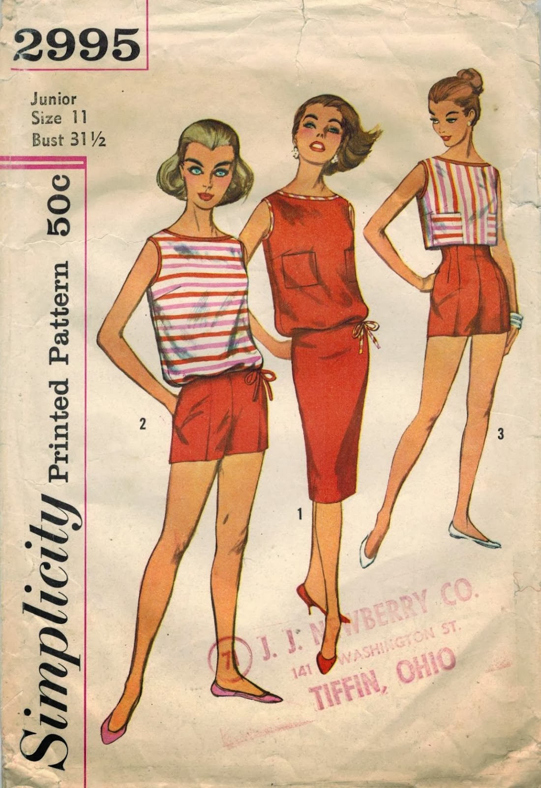 The Midvale Cottage Post: More Resort Fashions - Hit the ...