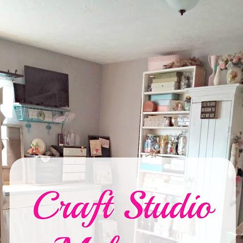 Craft Studio Makeover Reveal - Part II