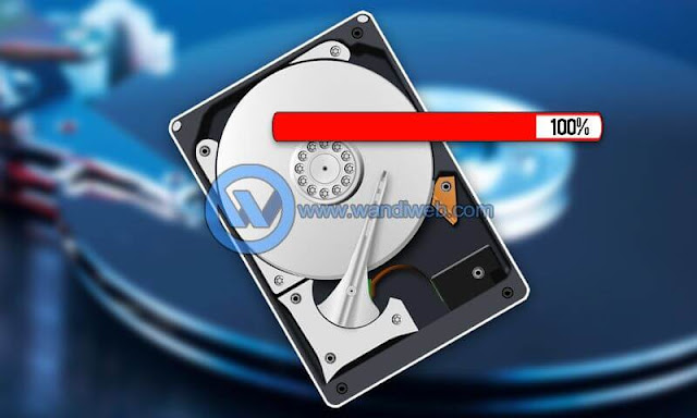 Tips Cara Mengatasi Lag Akibat 100% Disk Usage di Windows 10 - WandiWeb