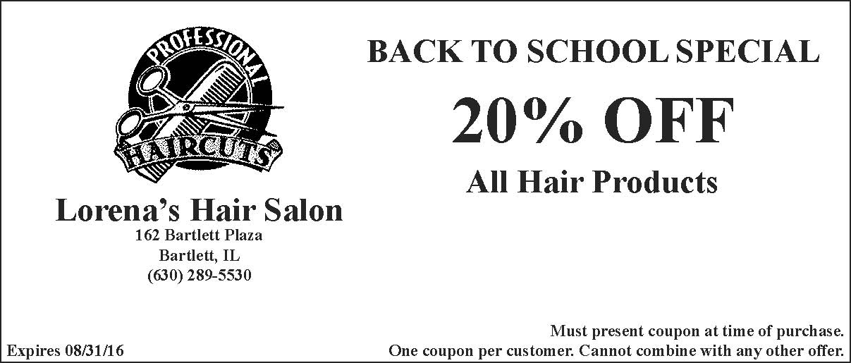 Lorenas Hair Salon: Promotions & Special Offers