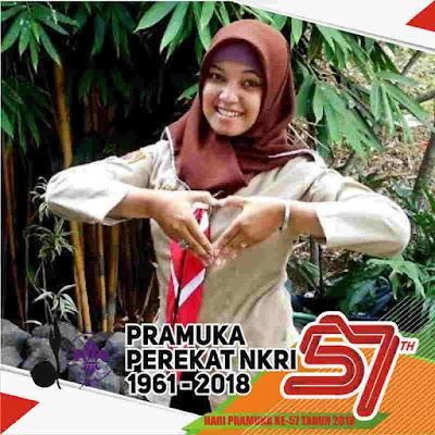 Kumpulan Bingkai Foto Profil Hari Pramuka 2018