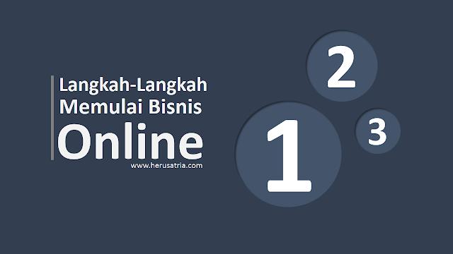 langkah-langkah memulai bisnis online