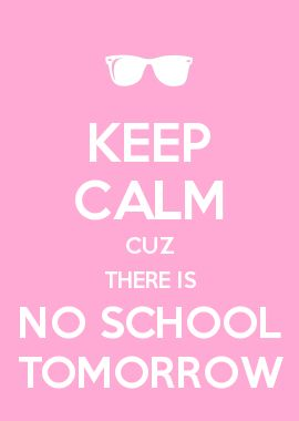 keep calm school