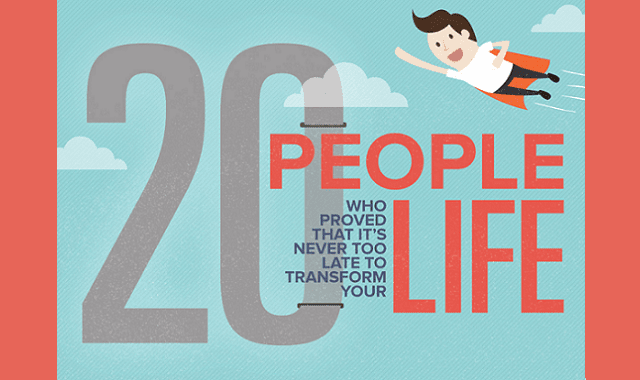 20 People Who Proved That It's Never Too Late To Transform Your Life