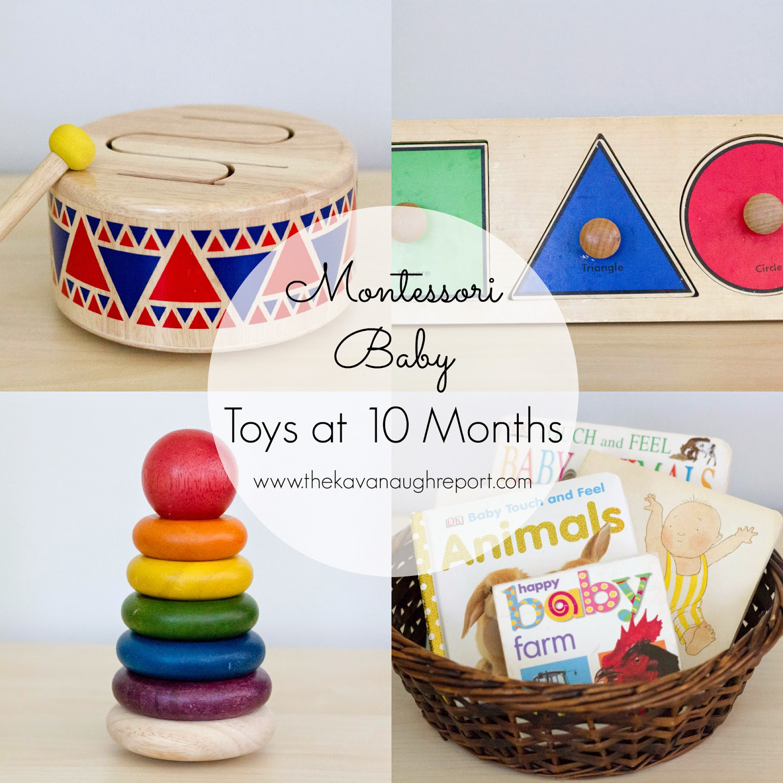 Montessori Baby Baby Toys 6 to 10 months