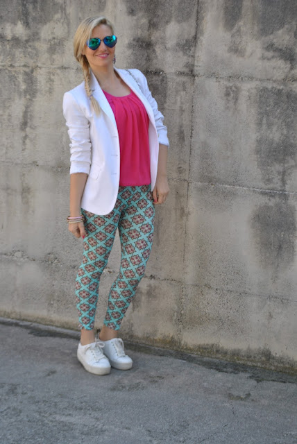 outfit fucsia come abbinare il fucsia abbinamenti fucsia how to wear fucsia how to combine fucsia how to match fucsia fucsia outfit outfit sporty chic outfit outfit maggio 2016 may outfit spring casual outfit mariafelicia magno fashion blogger color block by felym fashion blogger italiane fashion blog italiani fashion blogger milano blogger italiane blogger italiane di moda blog di moda italiani ragazze bionde blonde hair blondie blonde girl fashion bloggers italy italian fashion bloggers influencer italiane italian influencer
