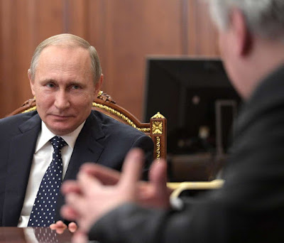 Vladimir Putin, Mikhail Fradkov.