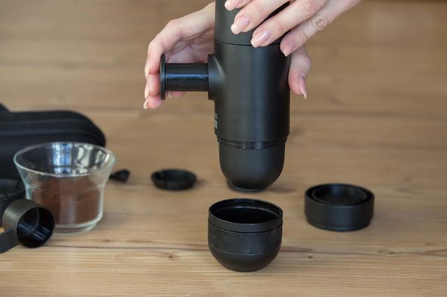 espressomaschine portable espresso-machine camping espresso-maker espressokocher-outdoor espresso-für unterwegs reiseset espressomaker handpresso-maschine espressomaschine-kaufen