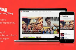 Gratis Download  FlexiMag - Viral Blogger News Magazine / Blog Theme
