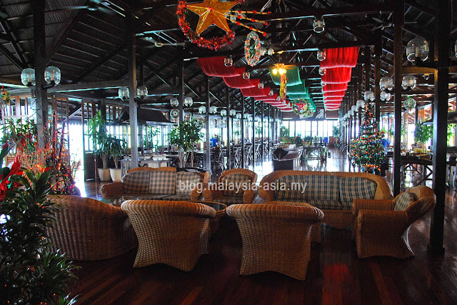 Restaurant at Kapalai Island Resort