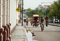 El transporte en Cienfuegos