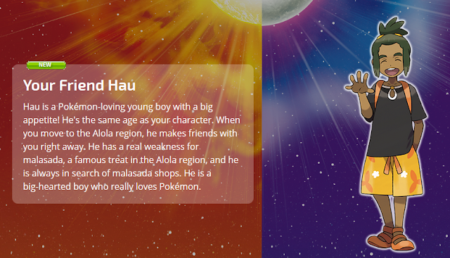 Pokémon Sun Moon Your Friend Hau