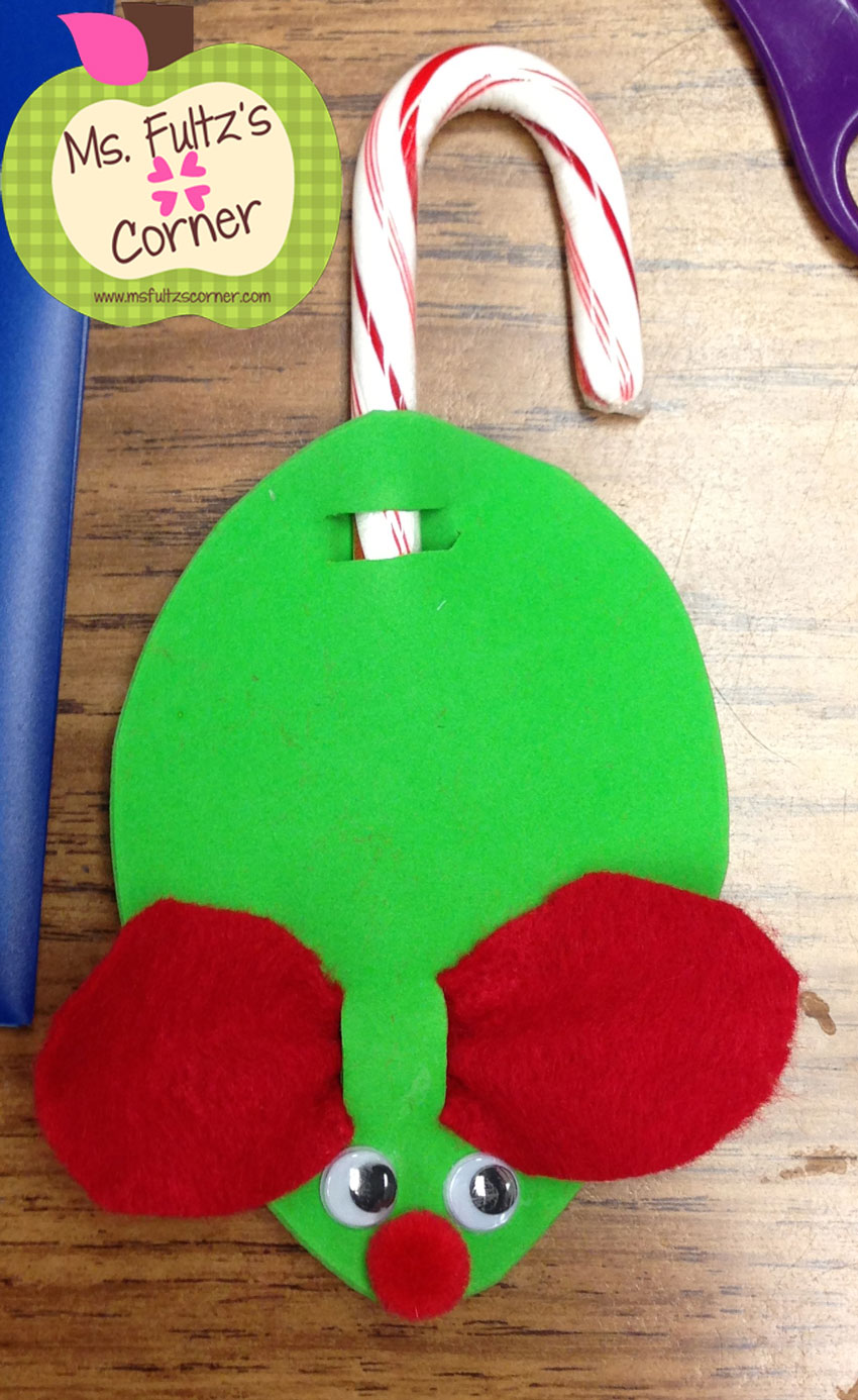3rd Grade Christmas Craft Ideas Part - 29: Cute And EASY Christmas Craft
