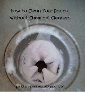 Pinchin Pennies How To Clean A Drain Without Chemical