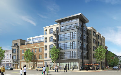 Washington DC condo development history in Logan Circle - PN Hoffman and CAS Riegler build new residential projects