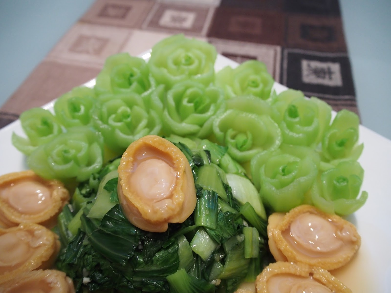 cny dishes pretty fortune baby abalone recipe