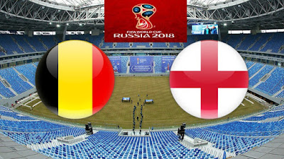 Live Streaming Belgium vs England Third Place Piala Dunia 14.7.2018